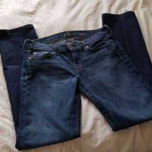 7 for all mankind altered jeans